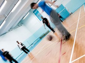 City centre sports hall available to hire all week. Facilities available are: table tennis, basket ball nets, matts, steppers, badminton net