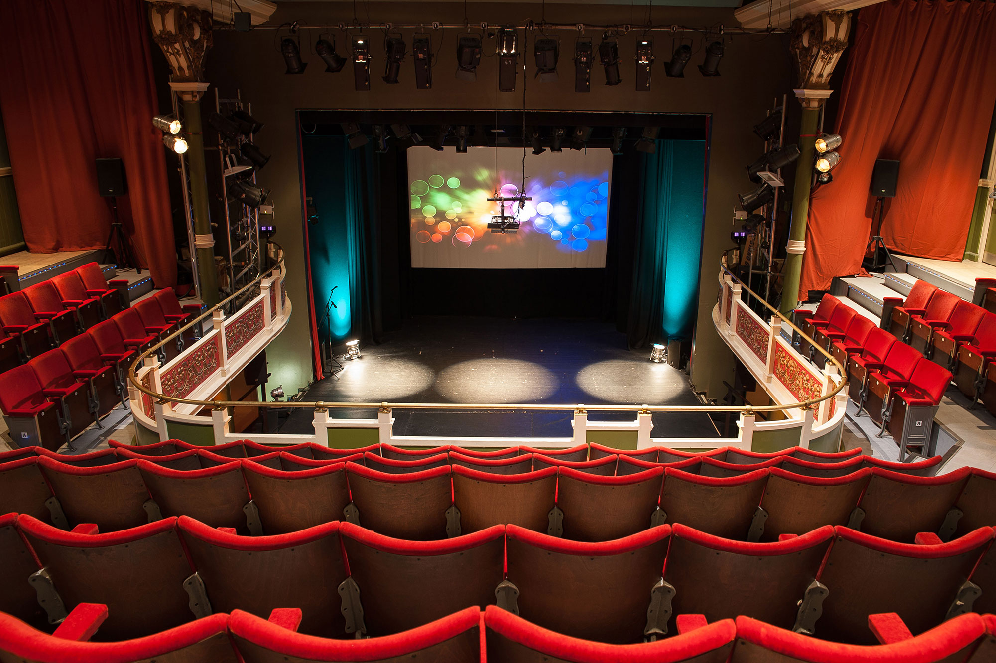 The Y Theatre is available for venue hire