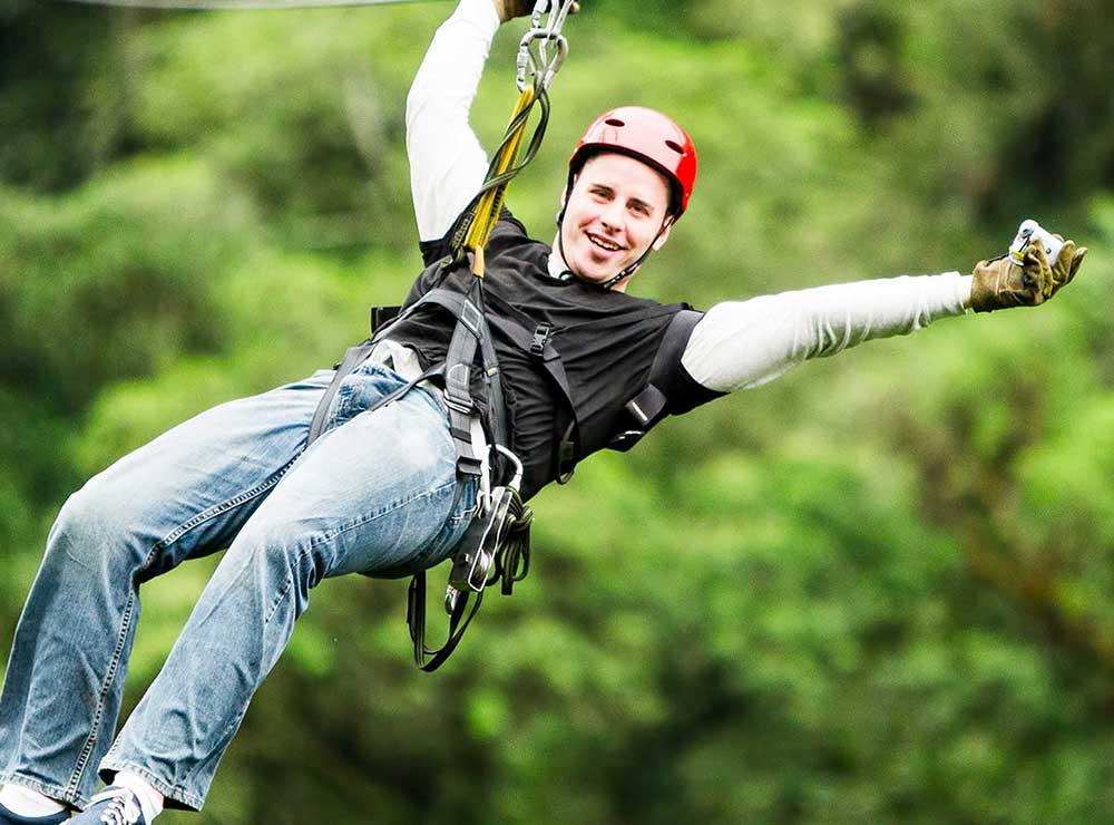 Challenge yourself and raise money for The Y homelessness services. Zip down a 200m zip wire in the middle or Victoria Park, Leicester.